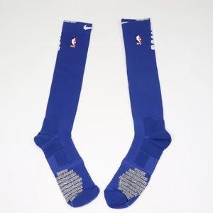 New Nike Detroit Pistons Basketball Socks Blue 2XL